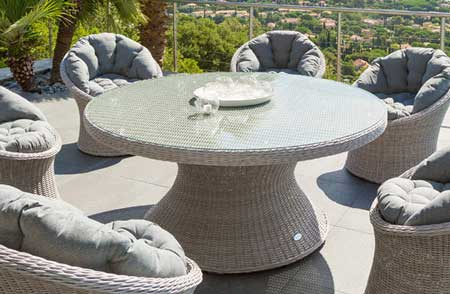 Awesome Table De Jardin Ronde Tressee Ideas - House Design ...