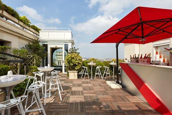 Bar terrasse du raphael