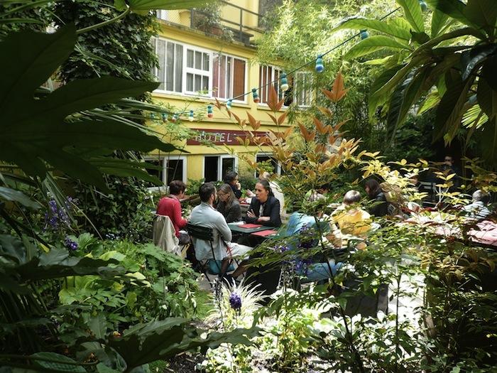 Terrasse restaurant paris 18