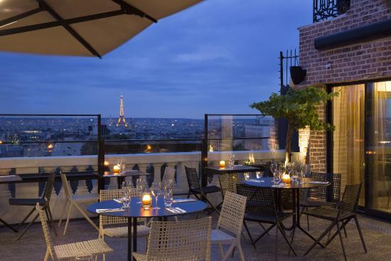 Terrasse à paris restaurant