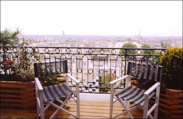 La terrasse hotel paris