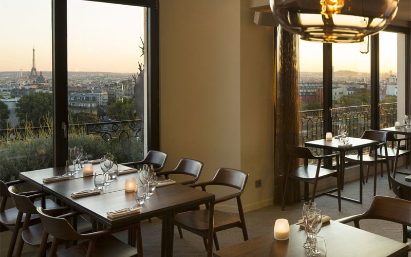 Terrasse hotel montmartre by mh