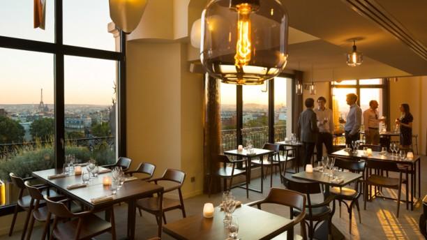 Hotel restaurant terrasse paris 16