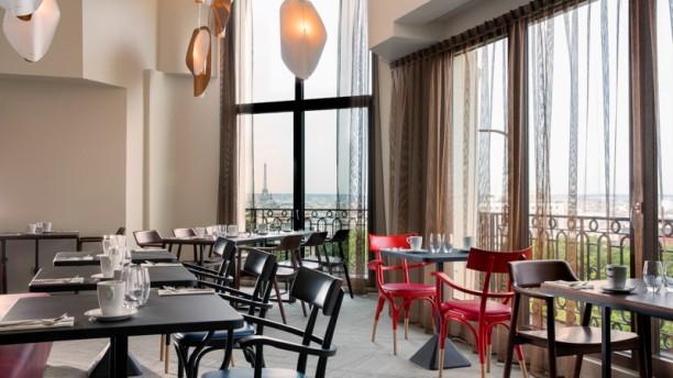 Hotel terrass em paris