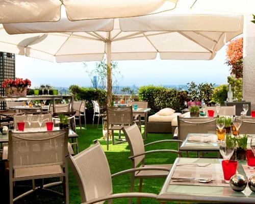 Le terrasse hotel paris restaurant