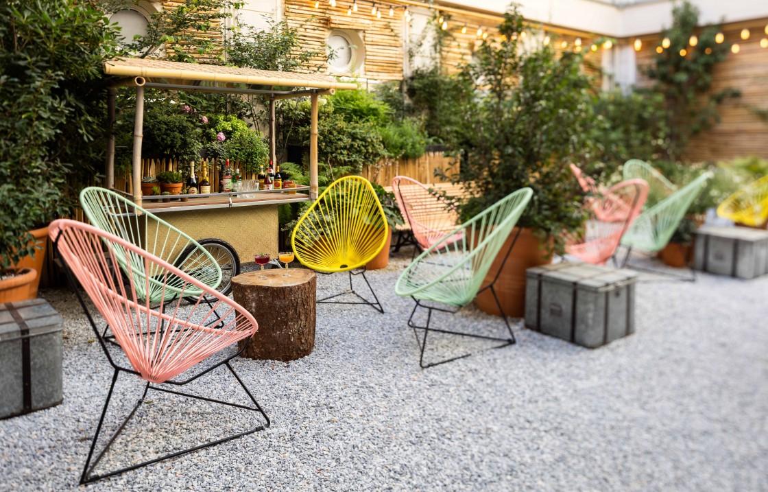 Restaurant terrasse arboree paris