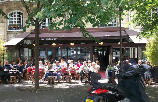 Cafe terrasse paris 17