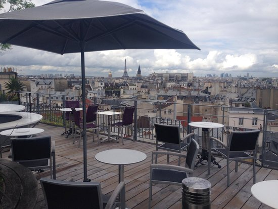 Bar terrasse holiday inn notre dame