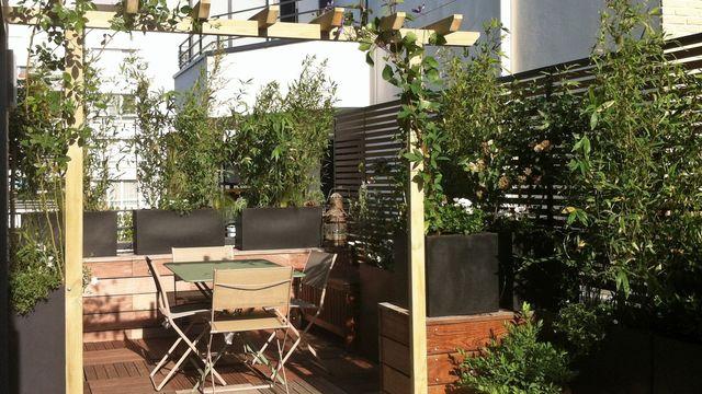 Photo terrasse aménagée