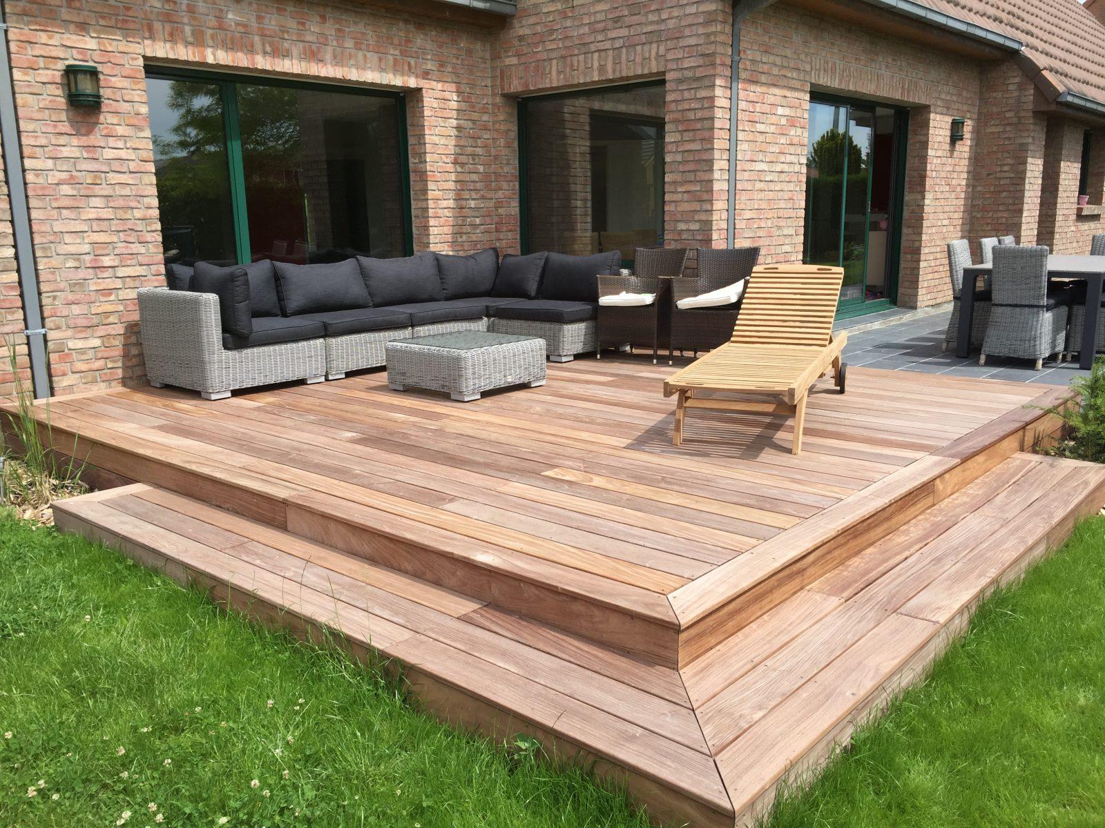 terrasse ardoise bois jardin. Black Bedroom Furniture Sets. Home Design Ideas