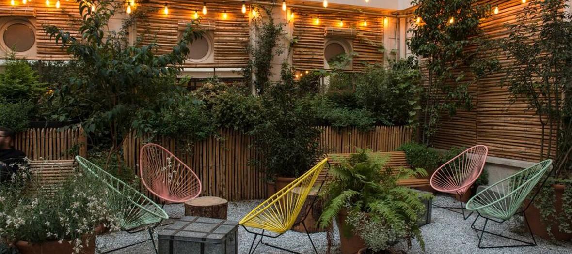 Restaurant avec terrasse paris 2018