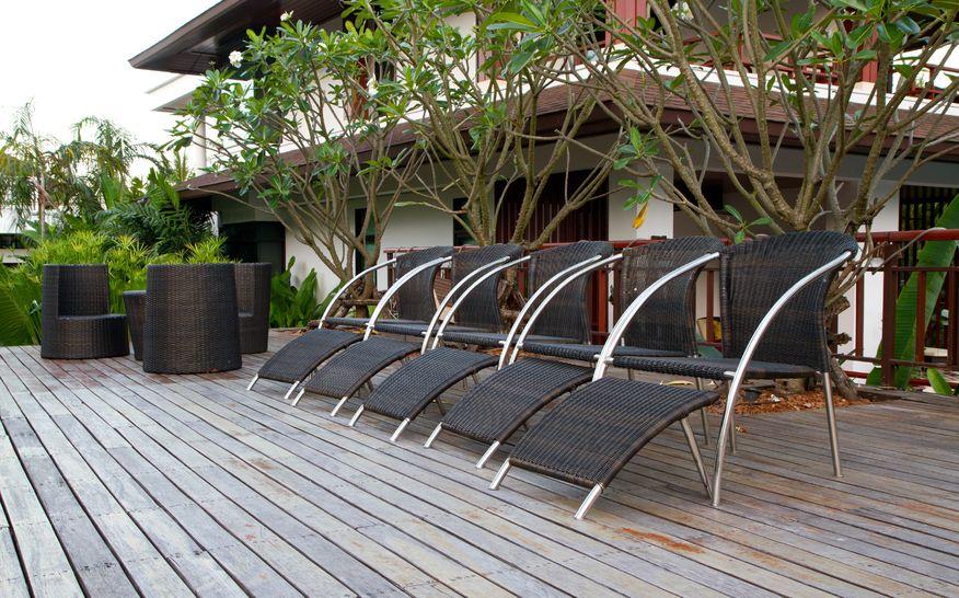 Entretien terrasse bois exotique huile de lin