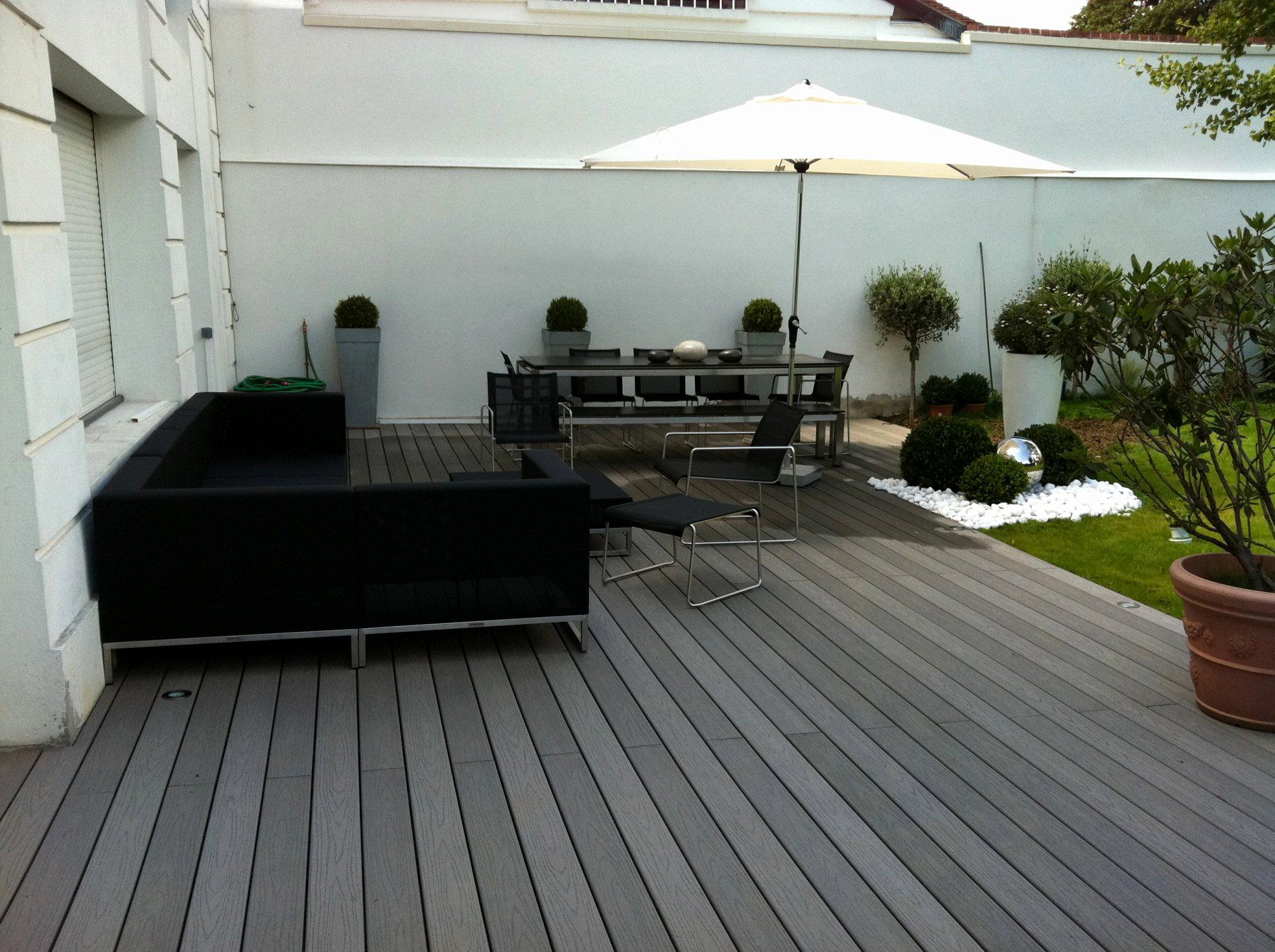 Terrasse bois composite pau