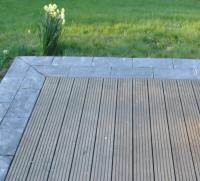 Terrasse composite gondole