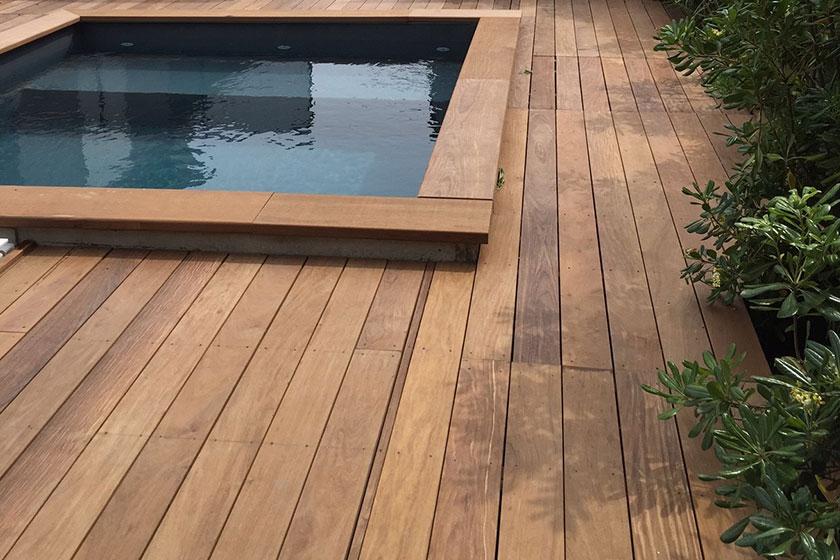 Terrasse bois exotique occasion