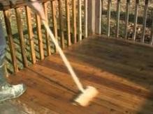 Nettoyer une terrasse en cumaru