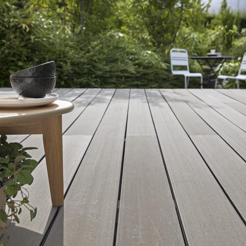 Pose Terrasse Bois: Terrasse Bois Composite Sans Lambourdes