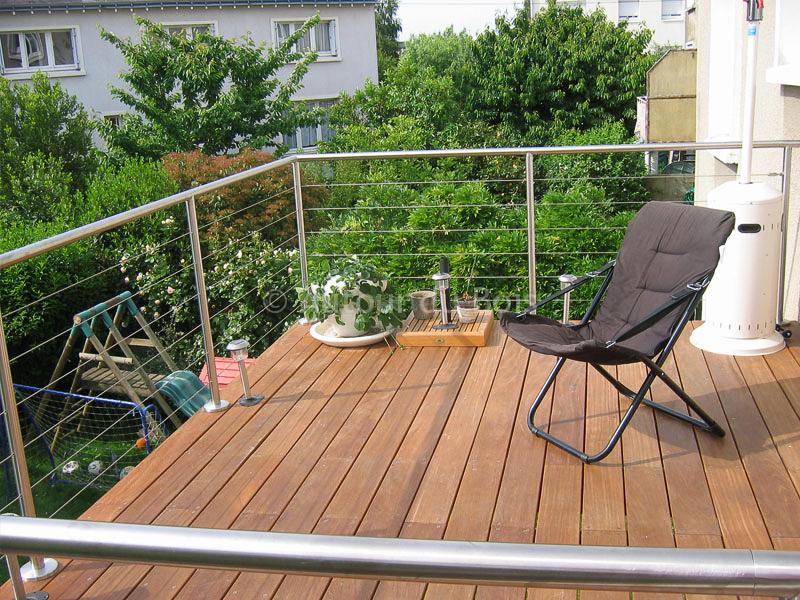 terrasse balcon bois composite jardin. Black Bedroom Furniture Sets. Home Design Ideas