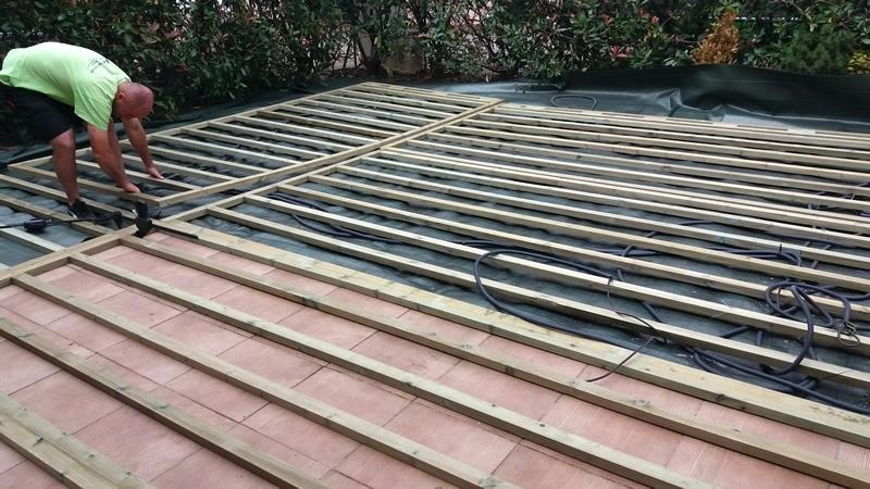 Terrasse bois roanne