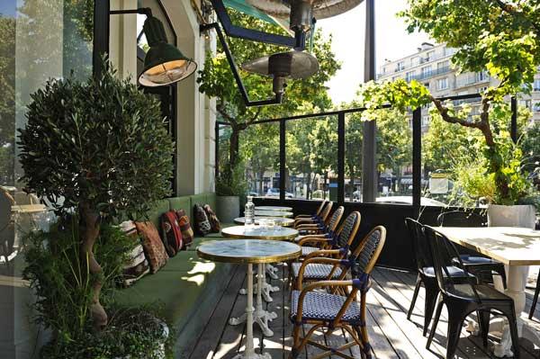 Restaurant terrasse d'auteuil