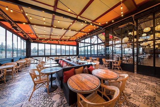 Terrasse bar suresnes