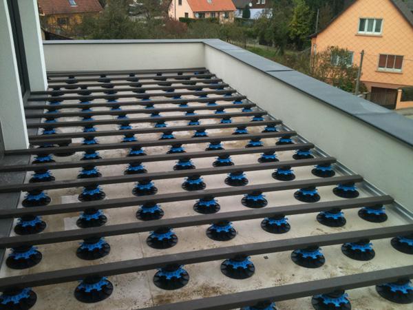 Terrasse balcon composite