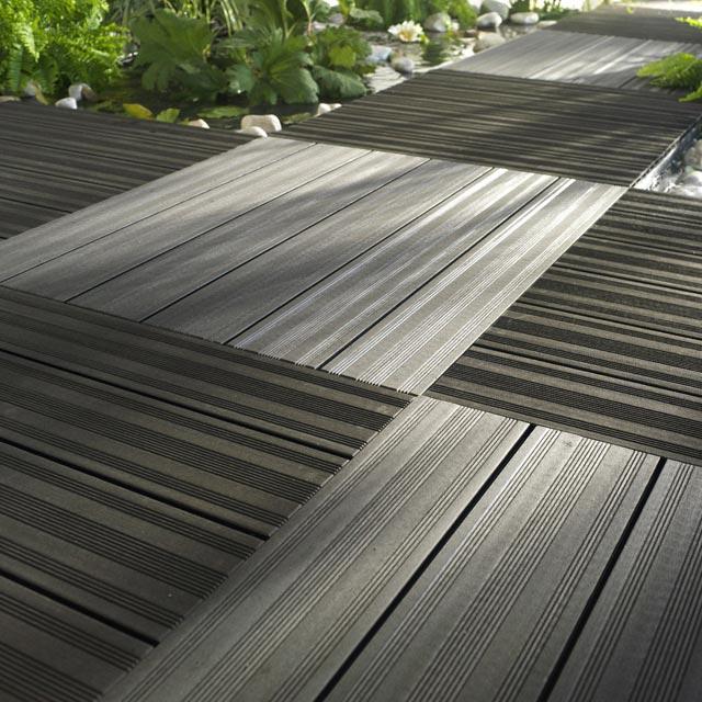 Terrasse bois composite dalle