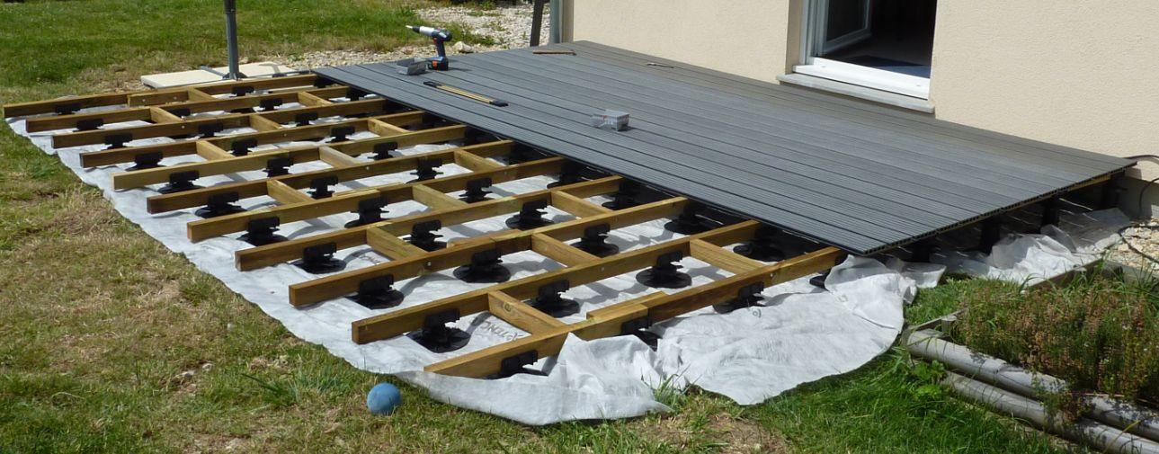 Terrasse bois composite noir