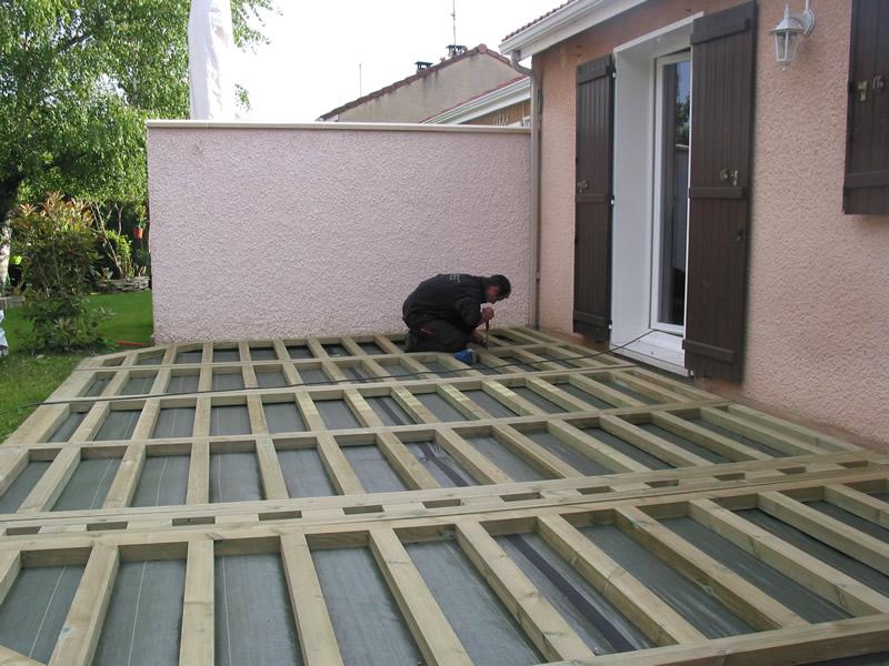 Terrasse bois composite trex