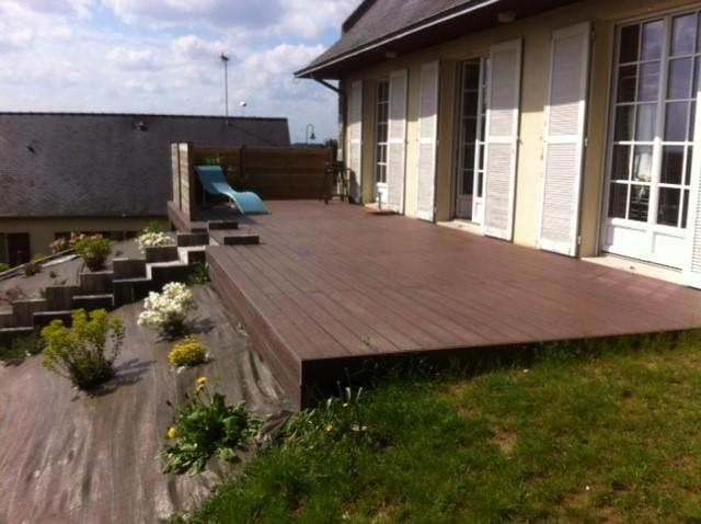 Prix terrasse bois ou composite