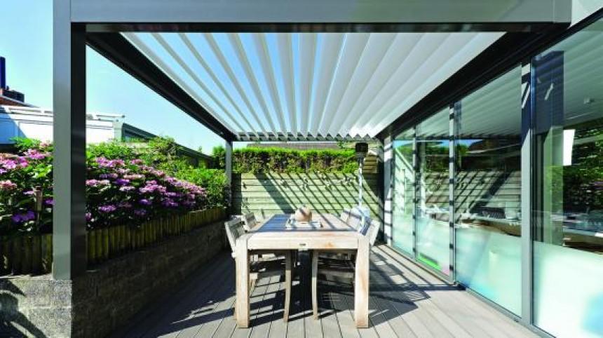 Terrasse couverte en alu - Mailleraye.fr jardin