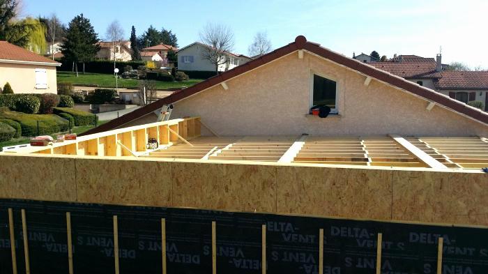 terrasse couverte toit plat jardin. Black Bedroom Furniture Sets. Home Design Ideas