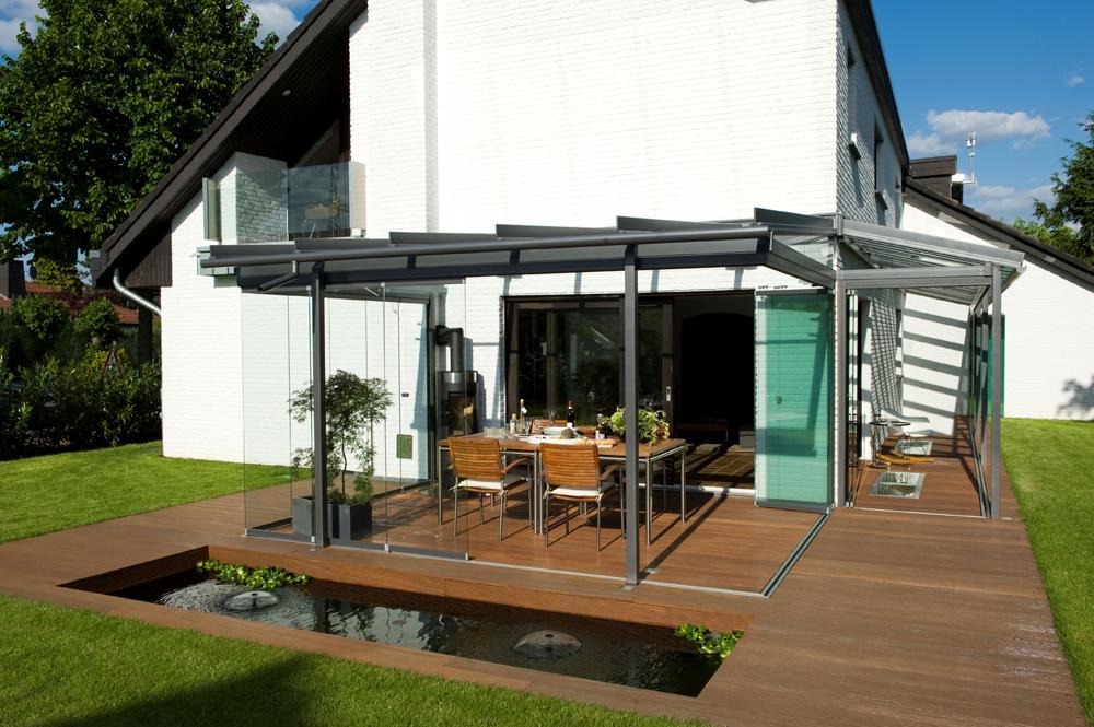Terrasse Couverte Ouverte Mailleraye Fr Jardin