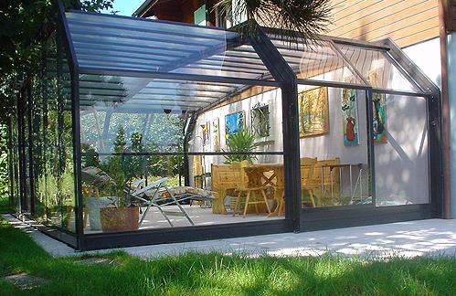 Transformer terrasse couverte en veranda