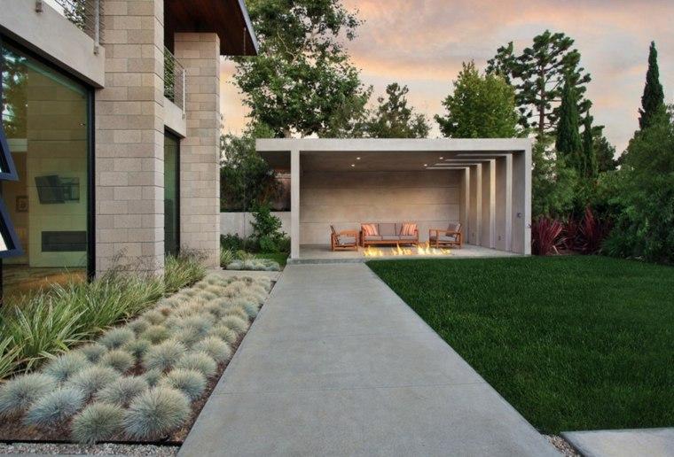 Terrasse contemporaine - Mailleraye.fr jardin