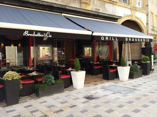 Cafe terrasse thionville