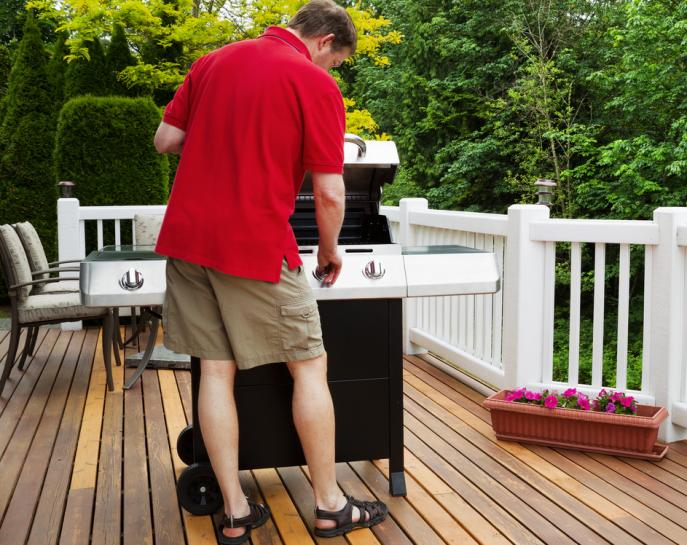 Nettoyer terrasse composite javel
