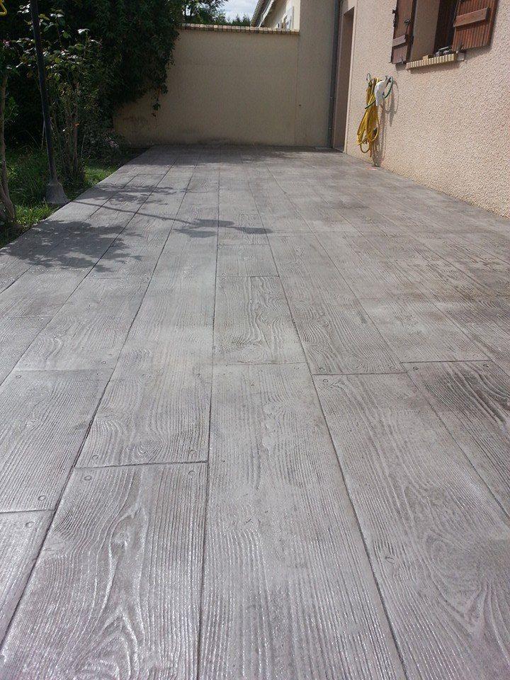 Terrasse beton ou stabilisé