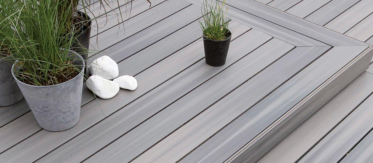 Terrasse bois composite annecy