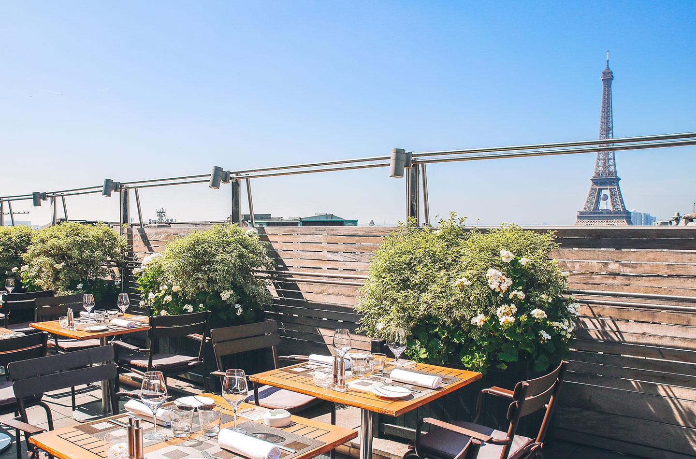 Terrasse restaurant panoramique paris
