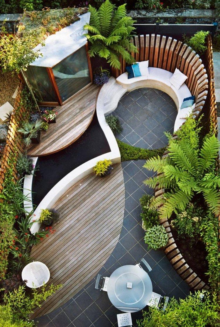Terrasse jardin facile