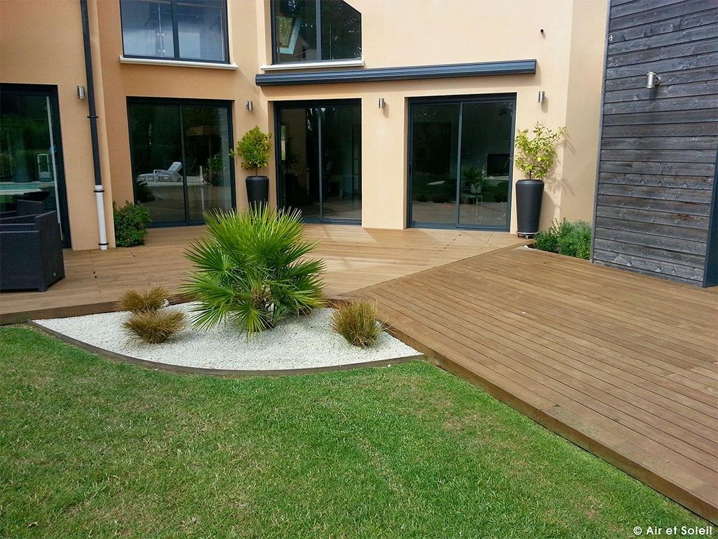 Terrasse composite yvelines - Mailleraye.fr jardin