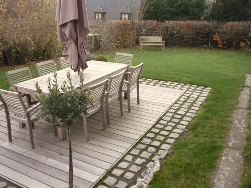 Terrasse Jardin En L Mailleraye Fr Jardin