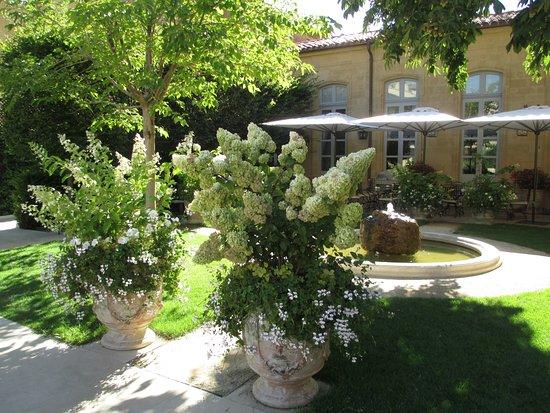 Terrasse jardin hotel