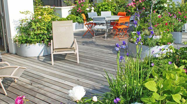 Terrasse paris ouest - Mailleraye.fr jardin