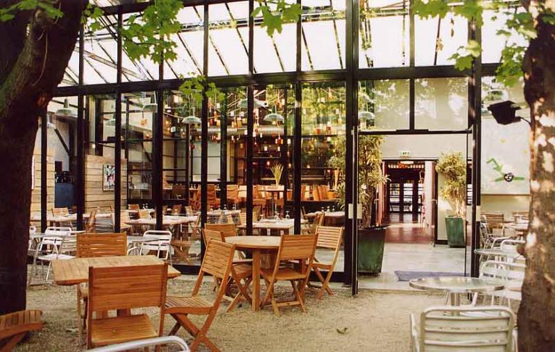 Terrasse bar jardin