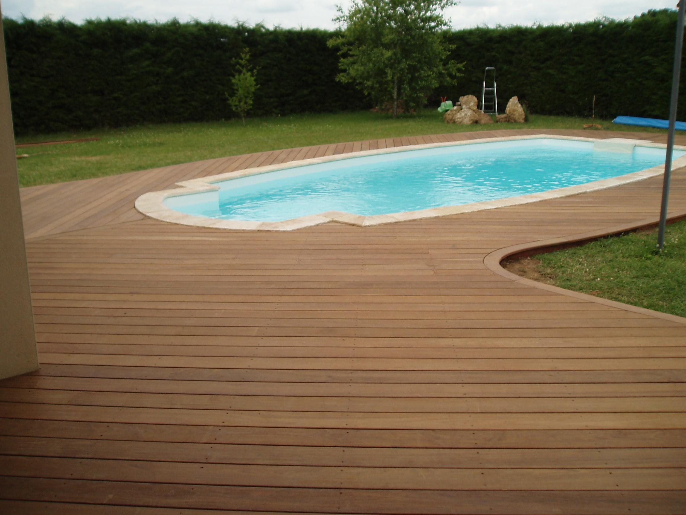 Faire Une Terrasse En Bois Exotique Mailleraye Fr Jardin