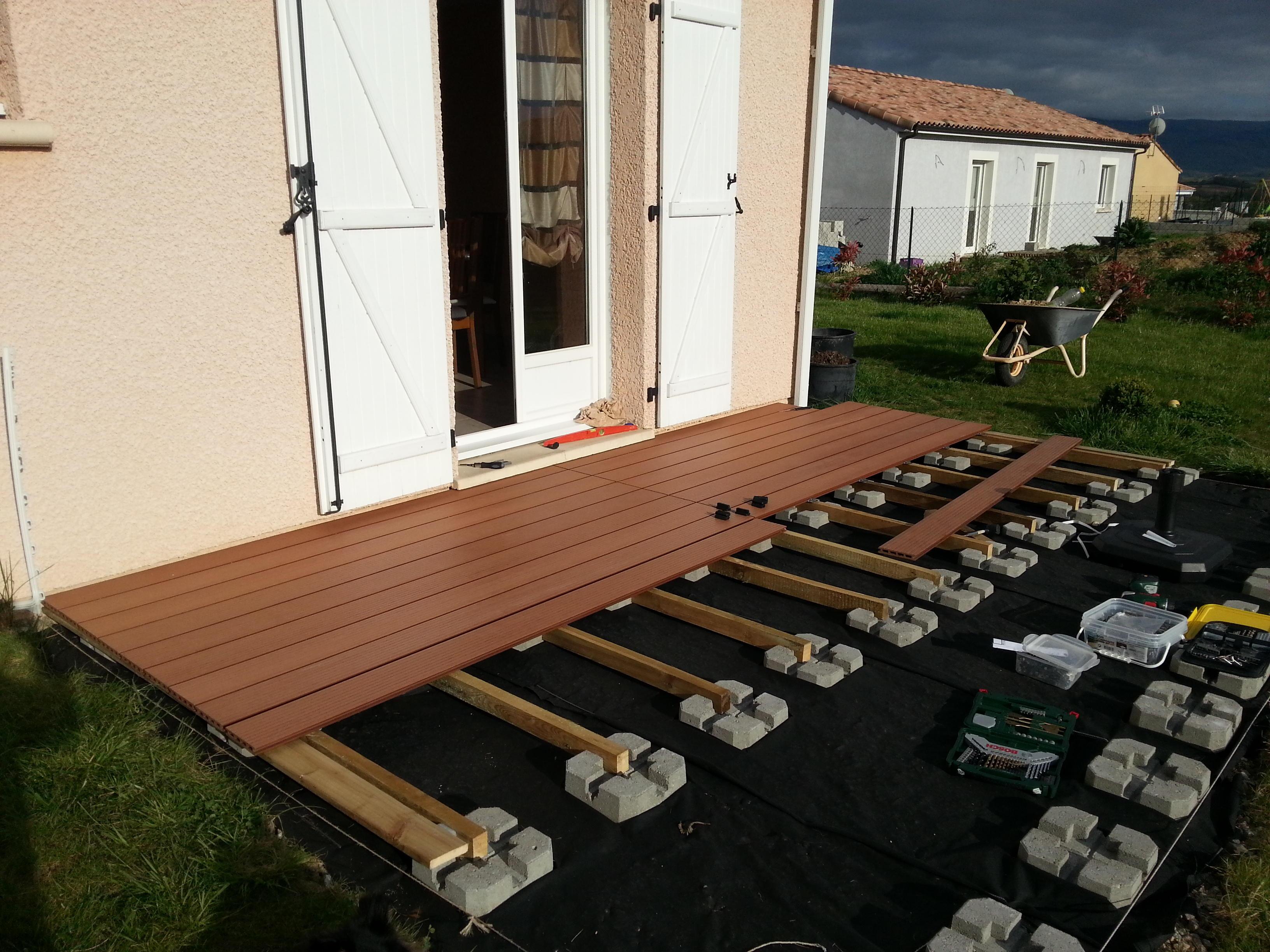 Agreable Bois Composite Pour Terrasse Pas Cher