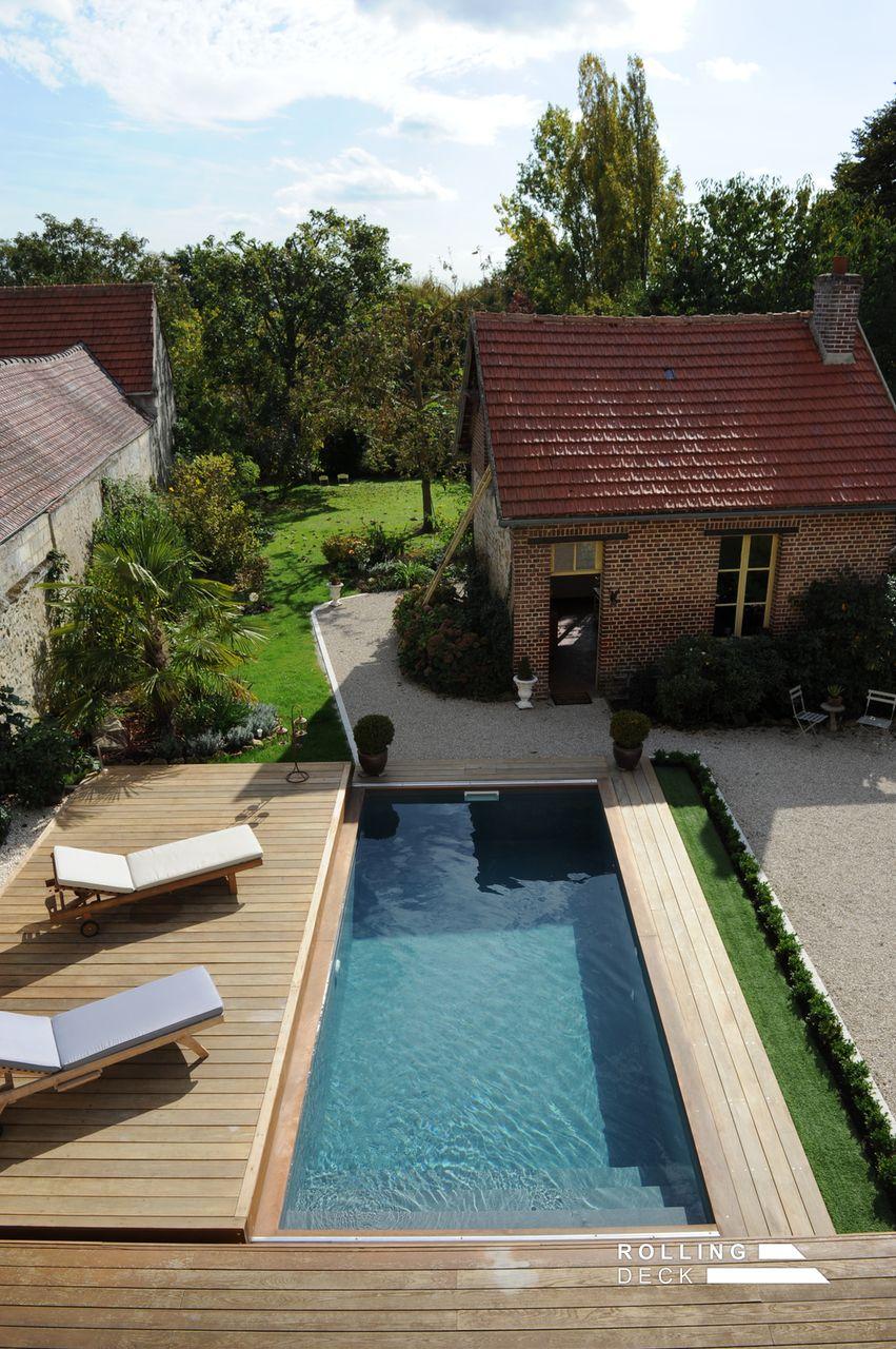 Terrasse amovible pour piscine