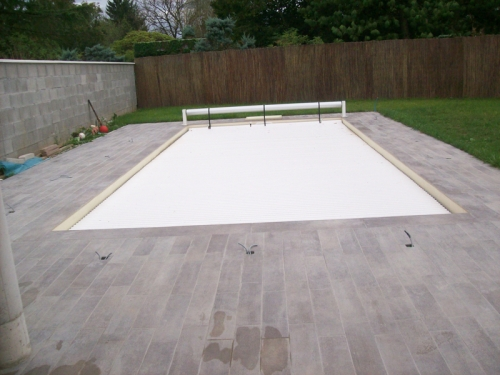 Terrasse carrelée ou en bois